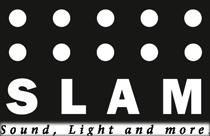 SLAM – Sound, Light and more. Logo